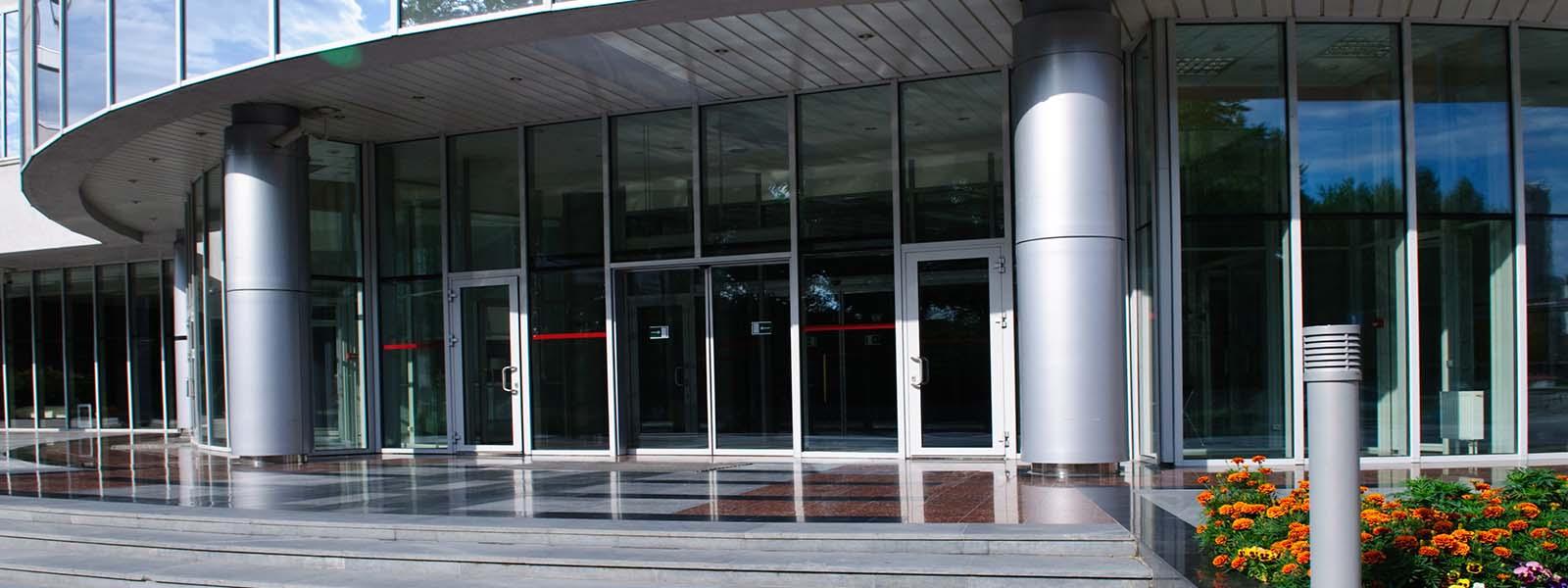Modern Building Front Enterance SE Baker & Company